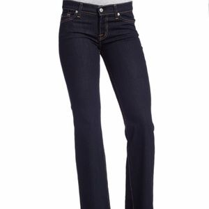 7 for all Mankind skinny bootcut denim jeans 30
